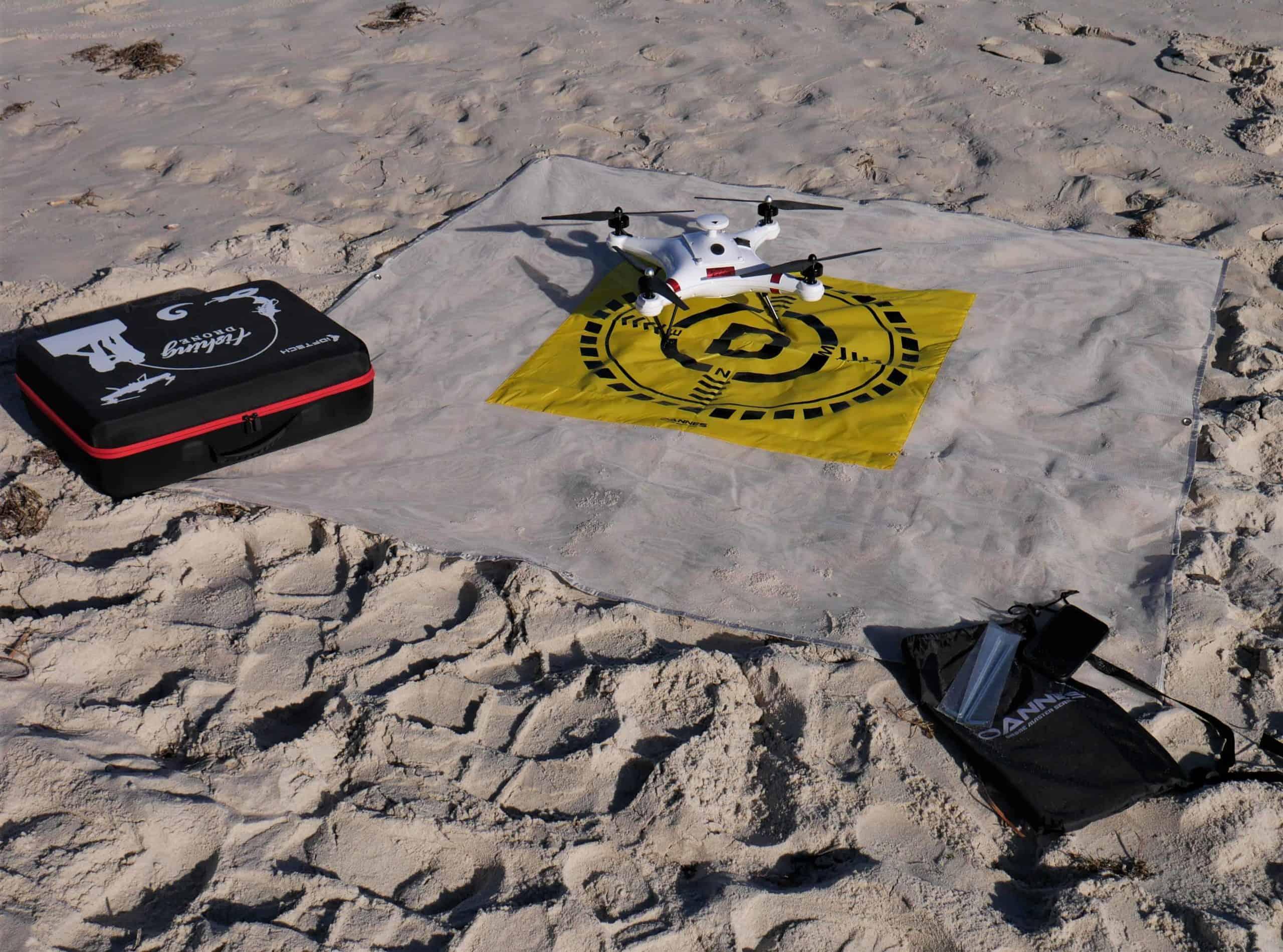 Drone Beach Landing Mat