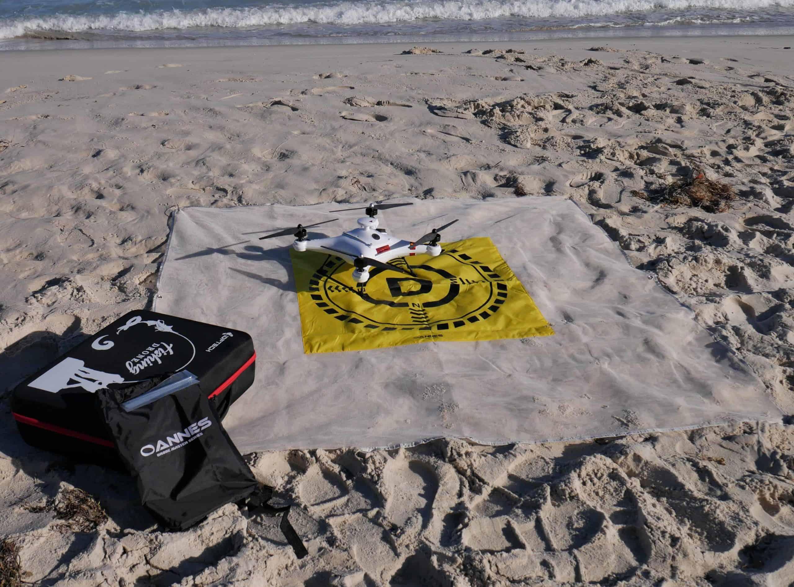 Drone Fishing Landing Mat