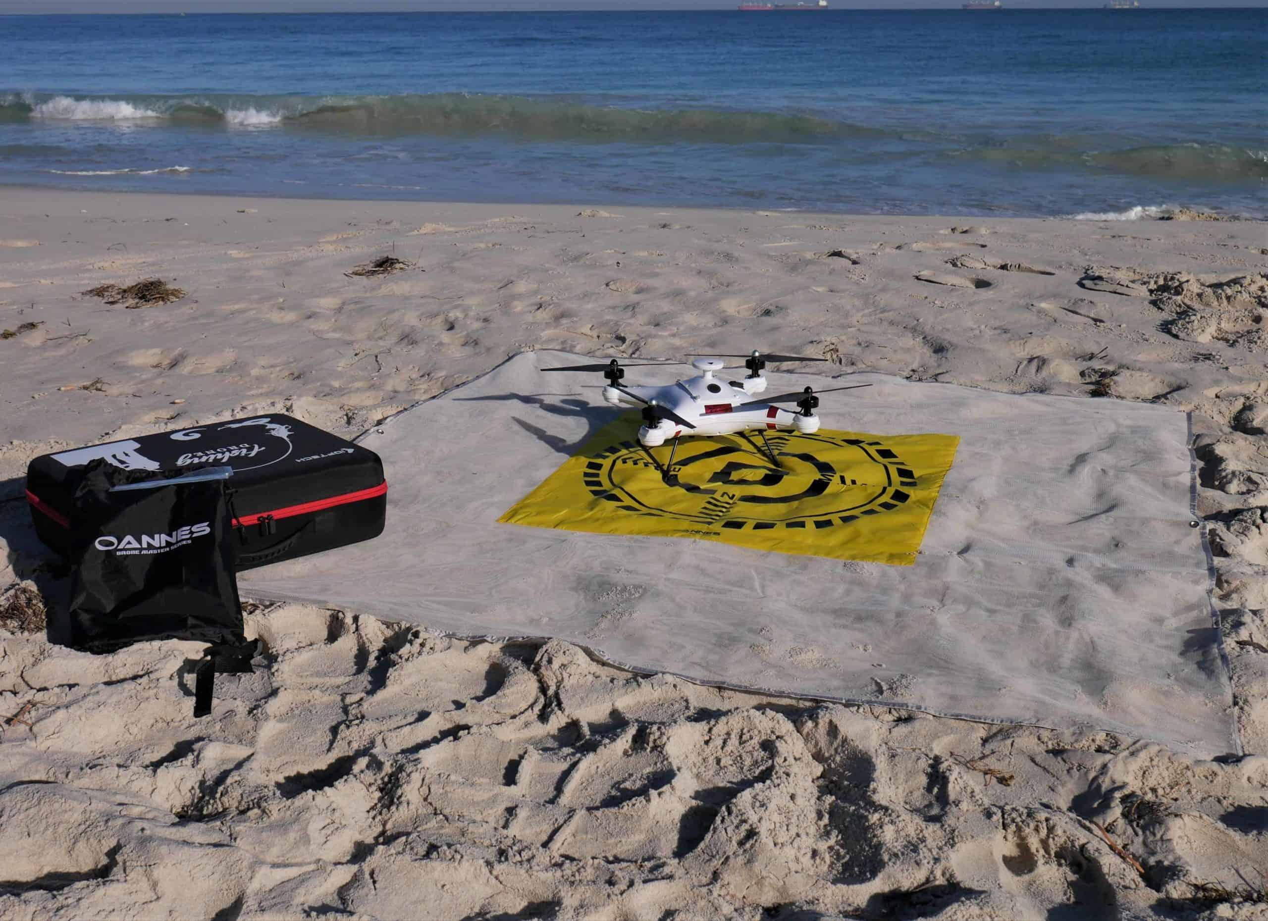 Oannes Drone Landing Mat